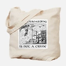 Waterboarding Tote Bag (Submit.)