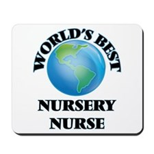 World's Best Nursery Nurse Mousepad