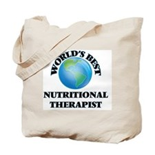 World's Best Nutritional Therapist Tote Bag