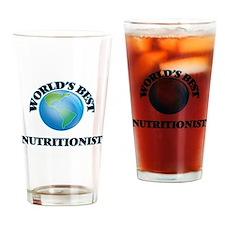 World's Best Nutritionist Drinking Glass
