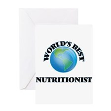World's Best Nutritionist Greeting Cards