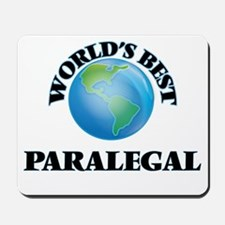 World's Best Paralegal Mousepad