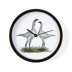 Modern Game Bantams Wall Clock