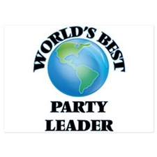 World's Best Party Leader Invitations