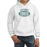 Copyright 1965 Hooded Sweatshirt