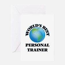 World's Best Personal Trainer Greeting Cards