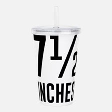 7 1/2 inches (T-Shirts) Acrylic Double-wall Tumble