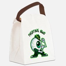 A Fighting Iris Canvas Lunch Bag