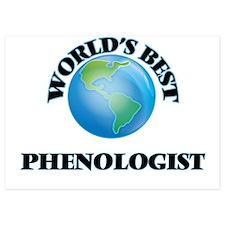 World's Best Phenologist Invitations