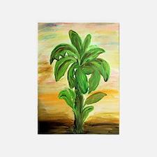 Banana Palms Rug 5'x7'area Rug