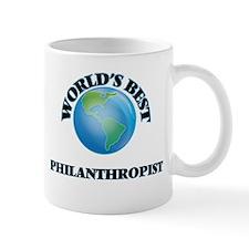 World's Best Philanthropist Mugs