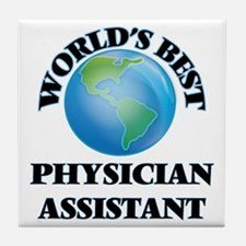 World's Best Physician Assistant Tile Coaster