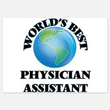 World's Best Physician Assistant Invitations