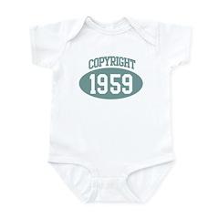 Copyright 1959 Infant Bodysuit