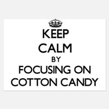 Keep Calm by focusing on Cotton Candy Invitations