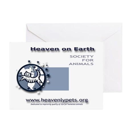 Heaven on Earth Greeting Cards (Pk of 10)