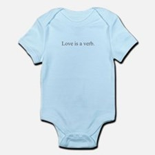 Love is a verb Body Suit