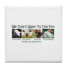Animal Voices Tile Coaster
