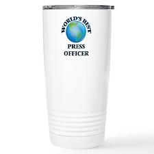 World's Best Press Offi Travel Mug