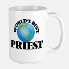 World's Best Priest Mugs