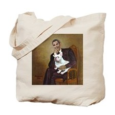 Obama-French BD (W) Tote Bag