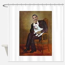 Obama-French BD (W) Shower Curtain