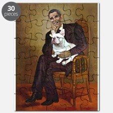 Obama-French BD (W) Puzzle