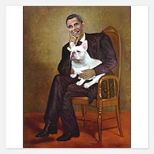 Obama-French BD (W) Invitations