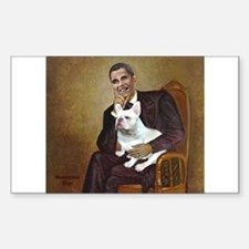 Obama-French BD (W) Decal