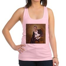 Obama-French BD (W) Racerback Tank Top
