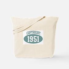 Copyright 1951 Tote Bag