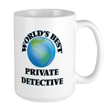 World's Best Private Detective Mugs