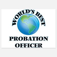 World's Best Probation Officer Invitations
