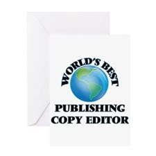 World's Best Publishing Copy Editor Greeting Cards