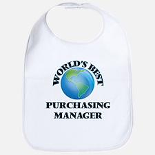 World's Best Purchasing Manager Bib