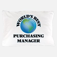 World's Best Purchasing Manager Pillow Case