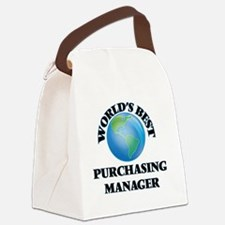 World's Best Purchasing Manager Canvas Lunch Bag
