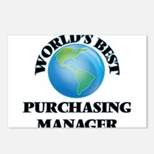 World's Best Purchasing M Postcards (Package of 8)