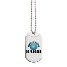 World's Best Rabbi Dog Tags