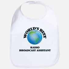 World's Best Radio Broadcast Assistant Bib