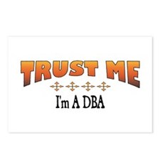 Trust DBA Postcards (Package of 8)