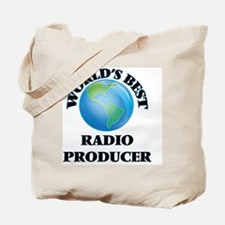 World's Best Radio Producer Tote Bag