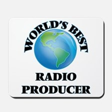 World's Best Radio Producer Mousepad