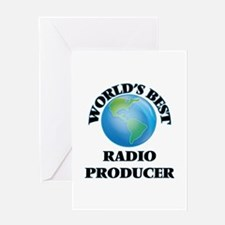 World's Best Radio Producer Greeting Cards