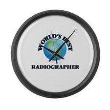 World's Best Radiographer Large Wall Clock