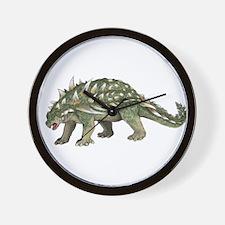 Ankylosaurus Wall Clock