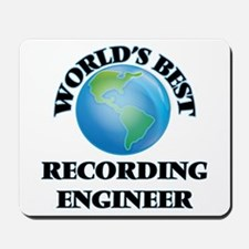 World's Best Recording Engineer Mousepad