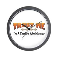 Trust Database Administrator Wall Clock