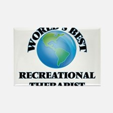 World's Best Recreational Therapist Magnets