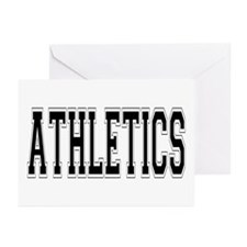 Athletics Greeting Cards (Pk of 10)